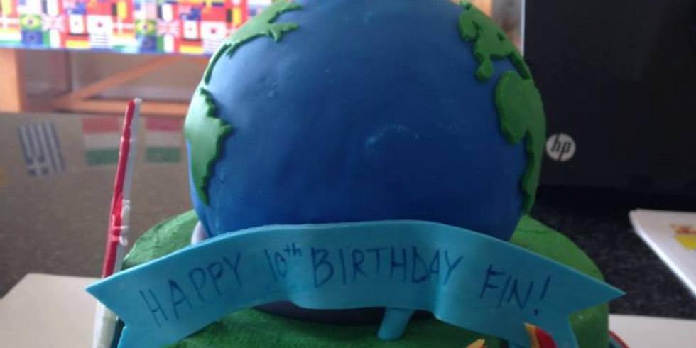Summer Camp-Planet Cake