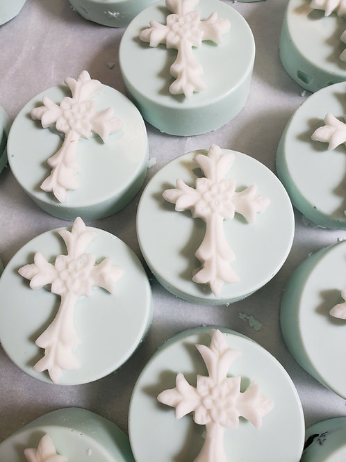 Religious Cross Cupcake Toppers