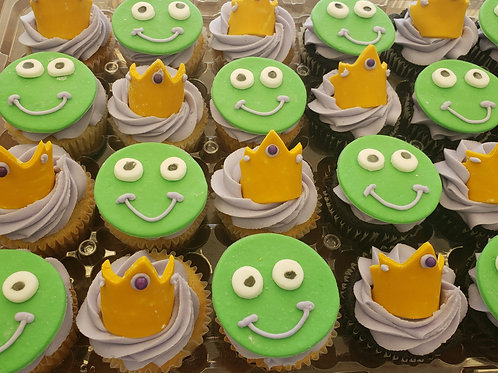 Princess and the Frog Cupcake Toppers