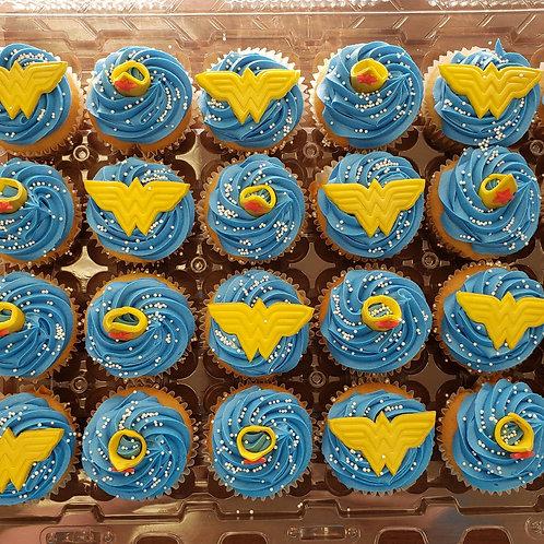 Wonder Woman Cupcake Toppers