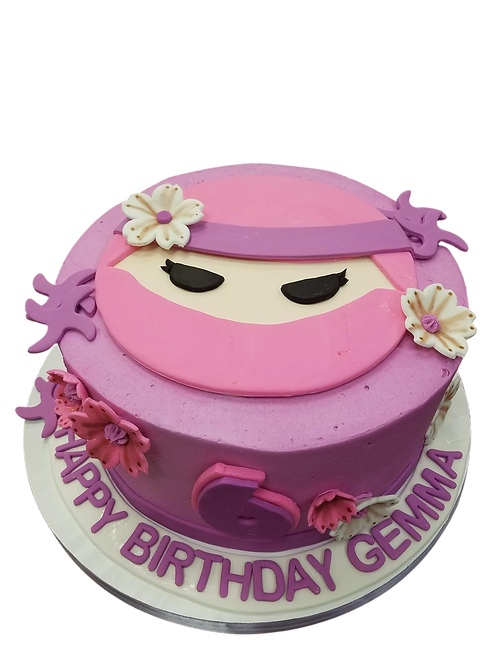 Girl Ninja Cake