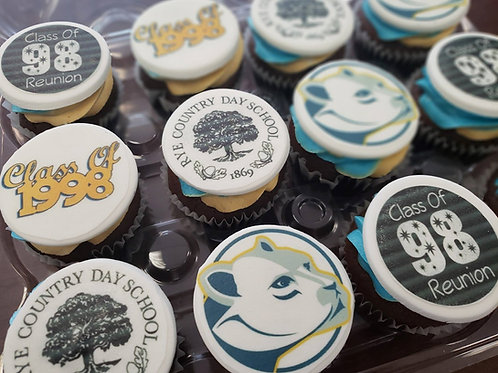 Customize Printed Cupcake Toppers