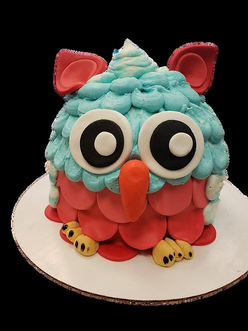 3D Owl Cake