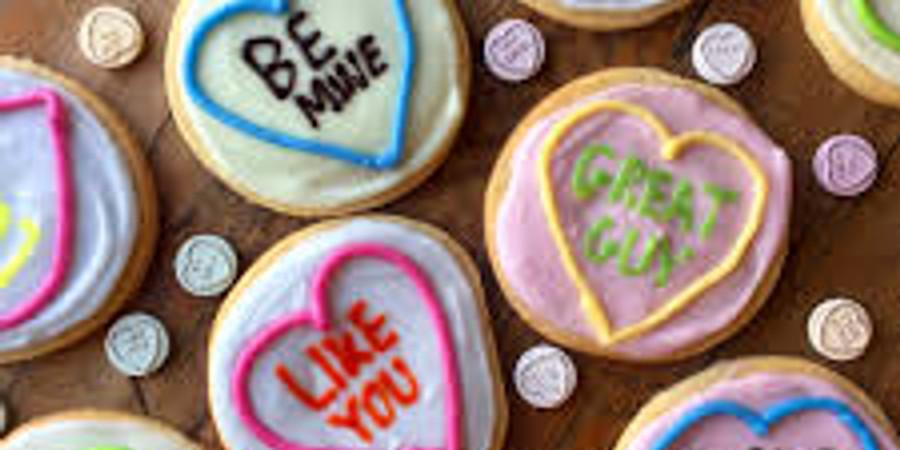Valentines Day Cookie Class-Kids