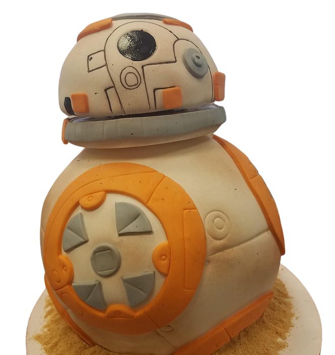 BB8 Spinning head cake