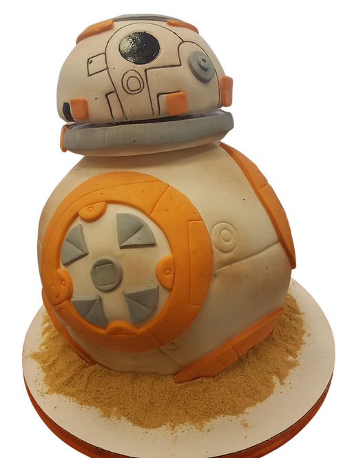 BB8 Moving Cake