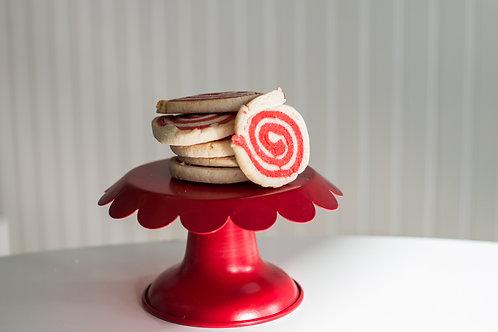 Cherry Almond Swirl Cookie