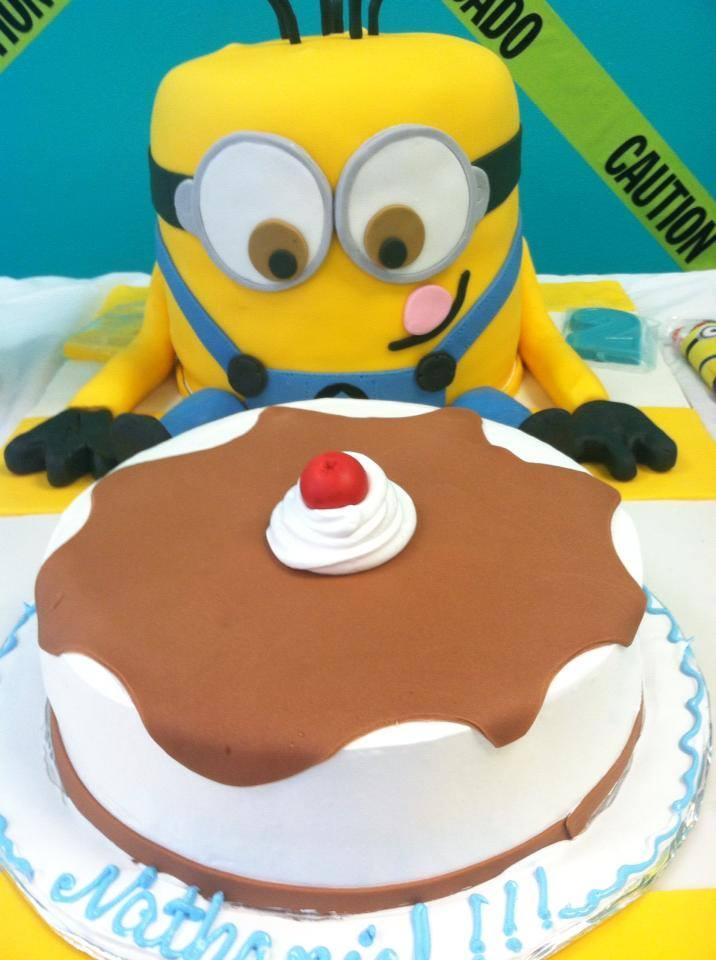minion, cake