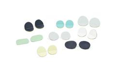 Flats & Folds, earrings