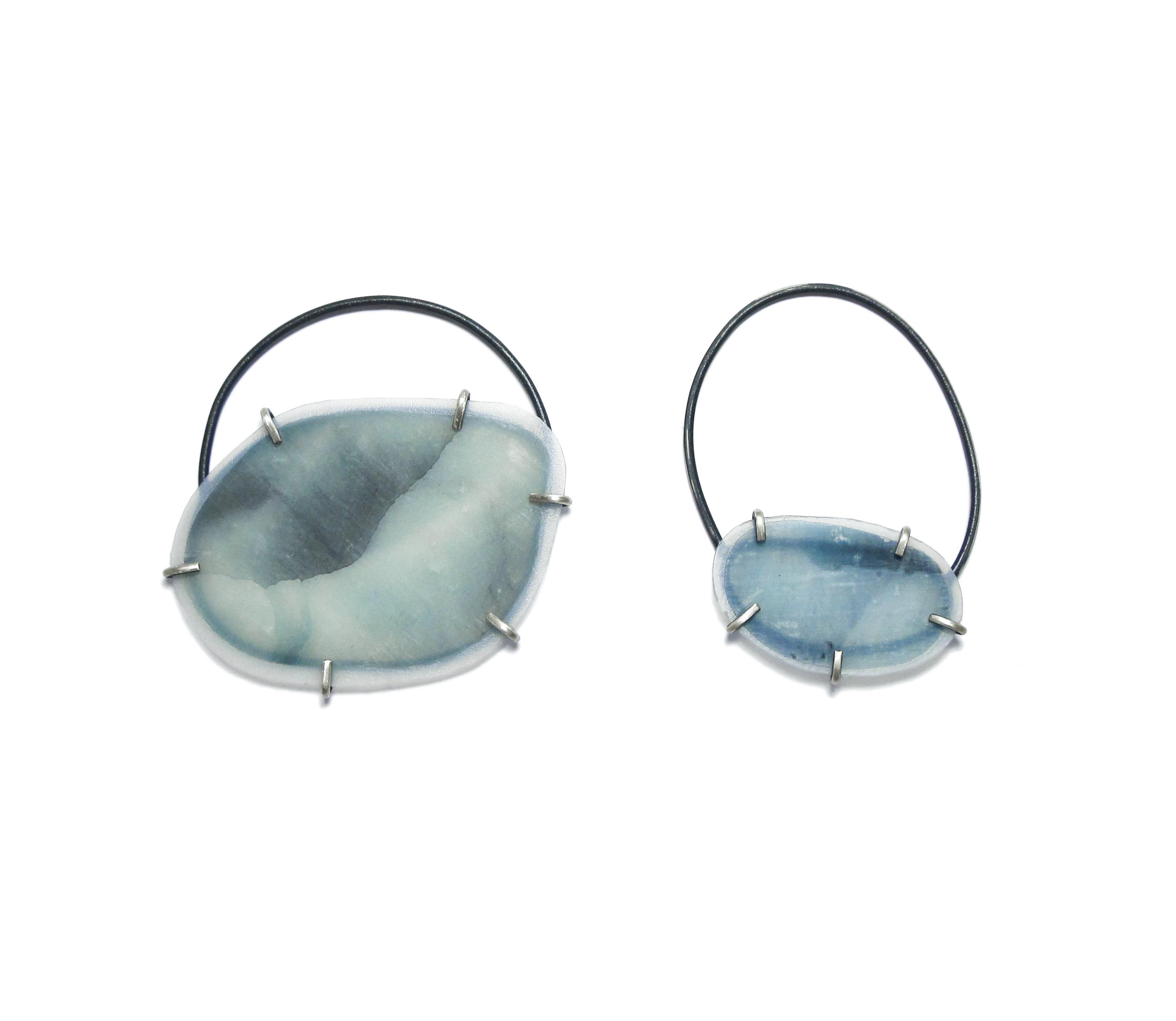 Glacier Melt, earrings