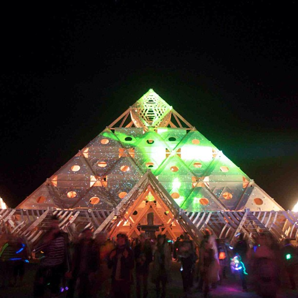 Burningman Temple