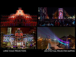 LARGE SCALE PROJECTIONS