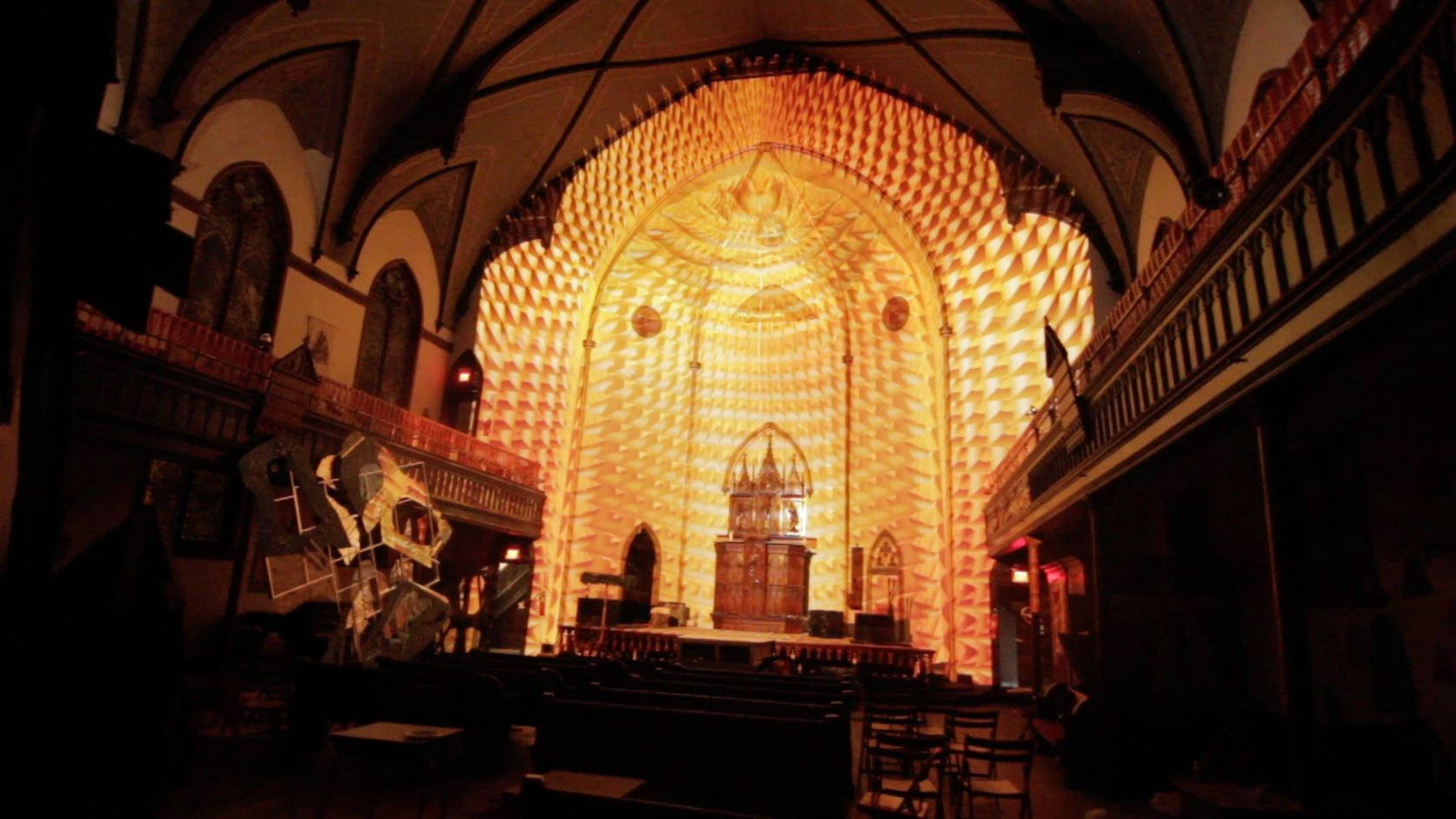 Projections in Church
