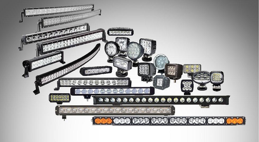 Диодные люстры, балки, фары, рабочий свет, диодная оптика для внедорожников, авто, мото и спецтехники, фараискатели, прожекторы