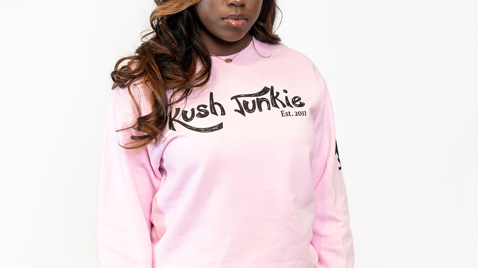 Kush Junkie Crew Neck Sweater