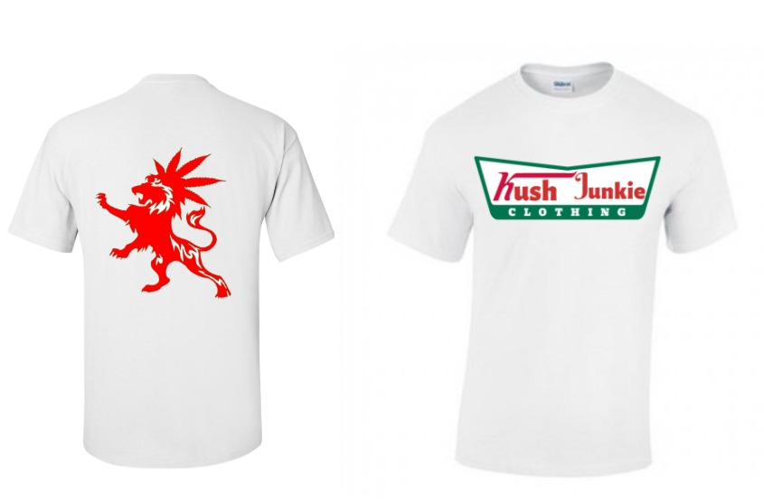 Copy of White T shirt design template -
