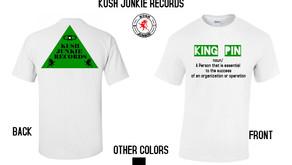 Kush Junkie Records Merch