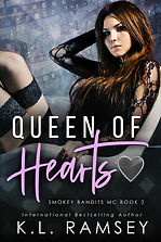 Queen of Hearts - K.L. Ramsey - E-Cover.