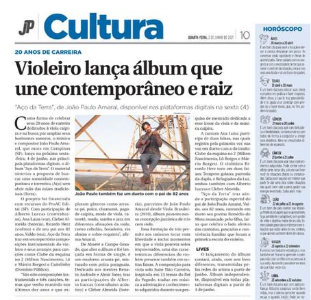 Violeiro lança álbum que une contemporâneo e raiz