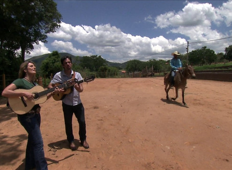 Globo Rural 33 anos celebra a viola – participação João Paulo Amaral e Adriana Farias