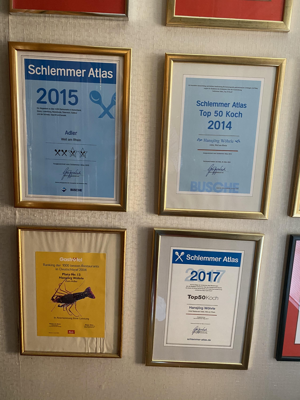 Auszug aus den vielen Auszeichnungen II