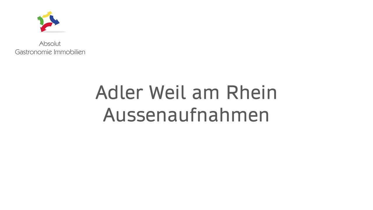 Adler Weil am Rhein Aussenaufnahmen