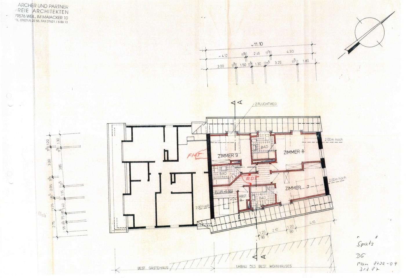 2. Obergeschoss Spatz
