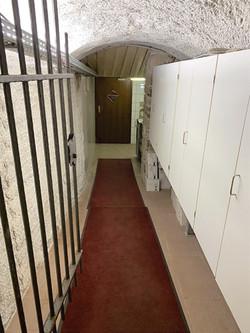 Tunnel zwischen Adler und Spatz