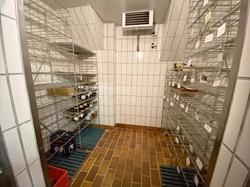 Kühlraum Getränke im Keller