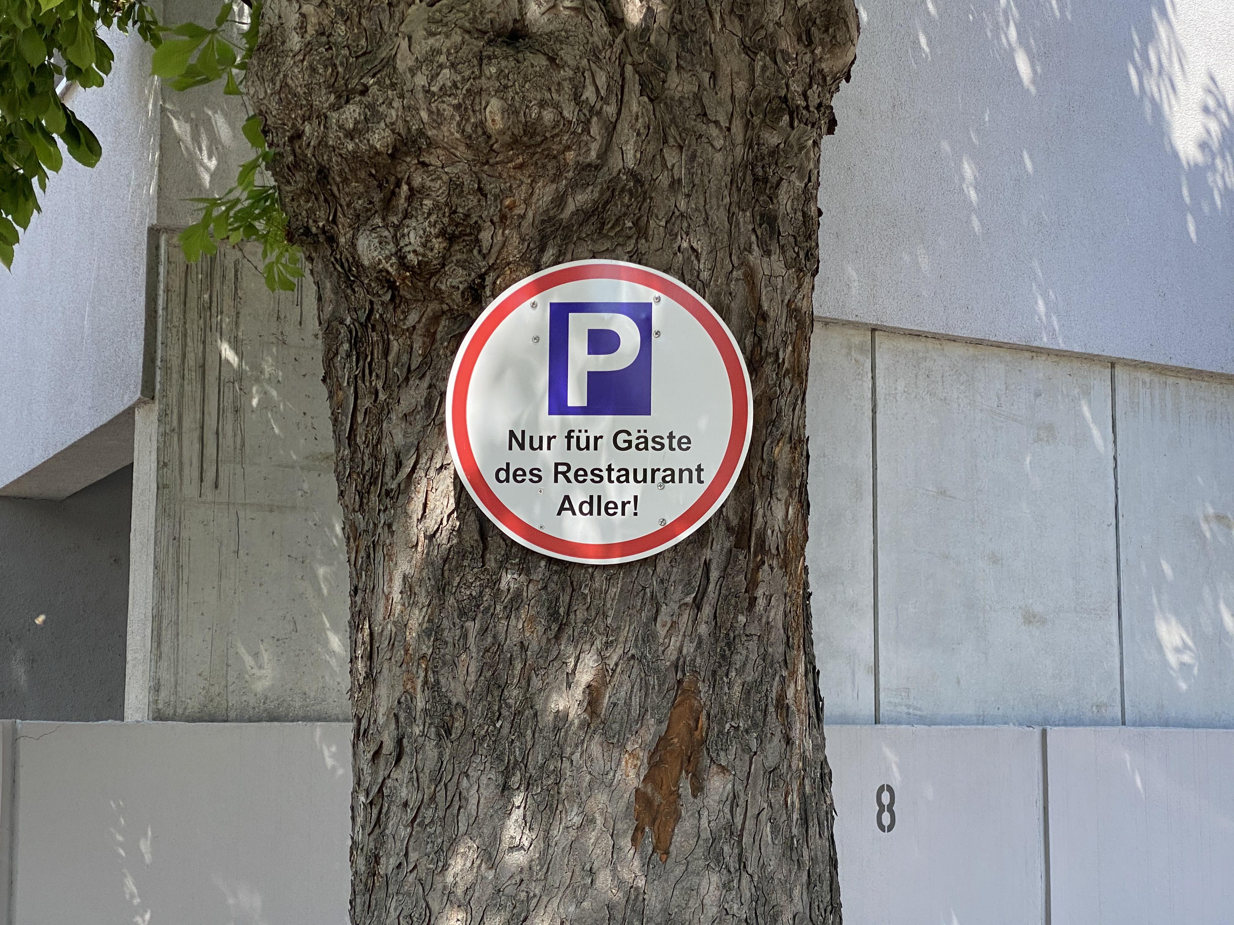 Zufahrt Parkplätze II