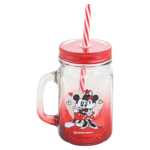 Caneca pote Mickey & Minnie