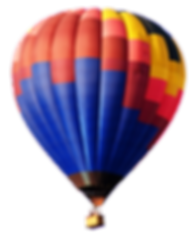 You can ride in a hot air balloon to support The Great Bucket List Challenge.