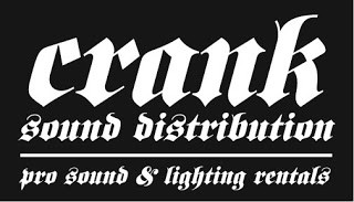 Crank Sound: Stage Sponsor