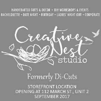 Creative Nest: Bronze Sponsor