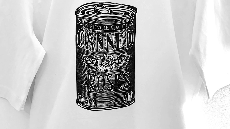 Canned Roses Black