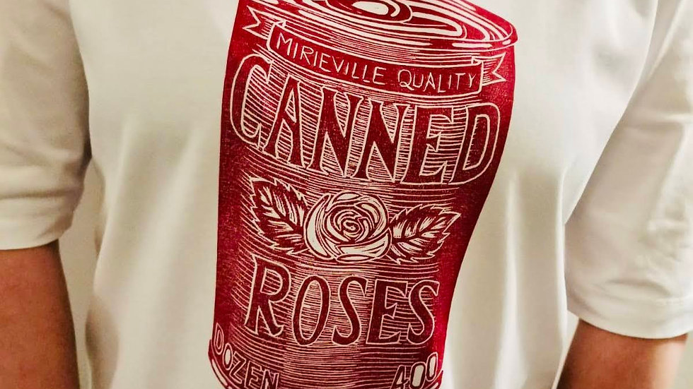 Canned Roses Red