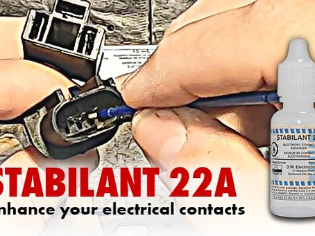 Wurth's Stabilant 22A is not your average contact cleaner