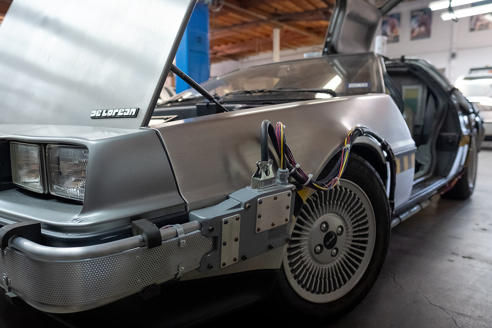 Ernest Cline's personal car.