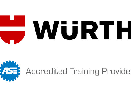 Wurth USA Earns ASE Re-accreditation