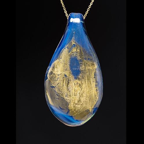 Gold Foil Pendant