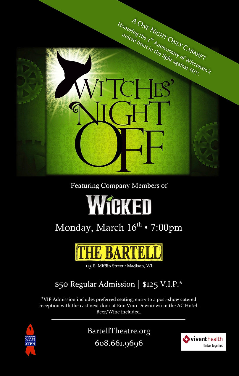 Witches' Night Off (Madison) Artwork - F