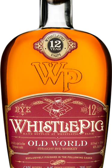 Whistle Pig Old World Rye  12 year