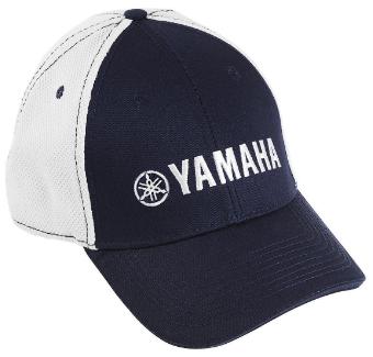 GORRA YAMAHA PURE CONTRAST AZUL/BLANCO