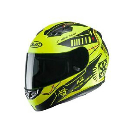 CASCO HJC CS15 TAREX AMARILLO