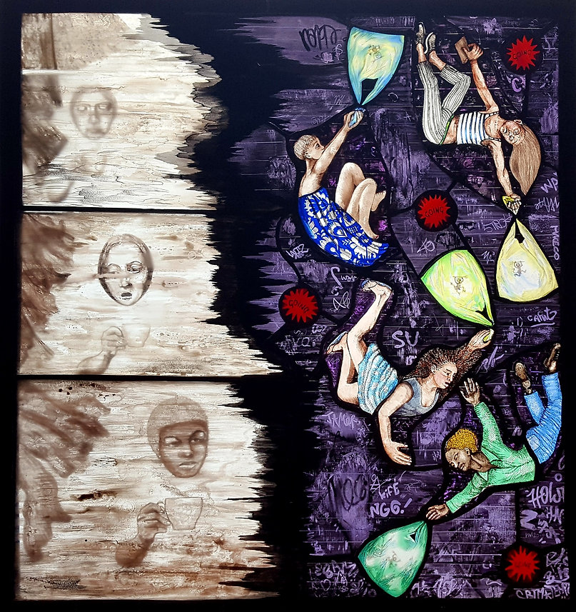 Stained Glass by Pinkie Maclure