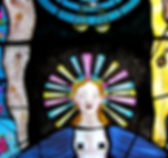Contemporary Stained Glass UK Pinkie Maclure Stained Glass detail