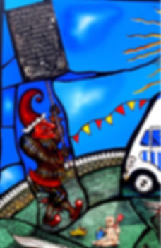 Punch Stained Glass, Pinkie Maclure