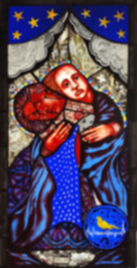 Pinkie Maclure Stained Glass 'The Good Cry'