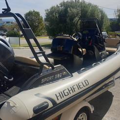 Highfield Sport 560 with Yamaha engine