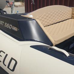 Highfield Sport 560 rear seat